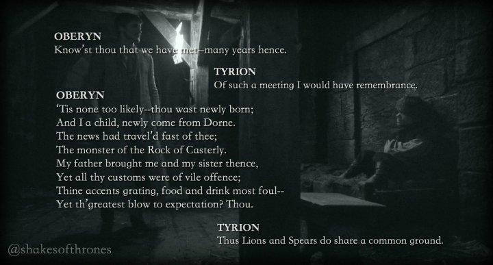 Oberyn&Tyrion